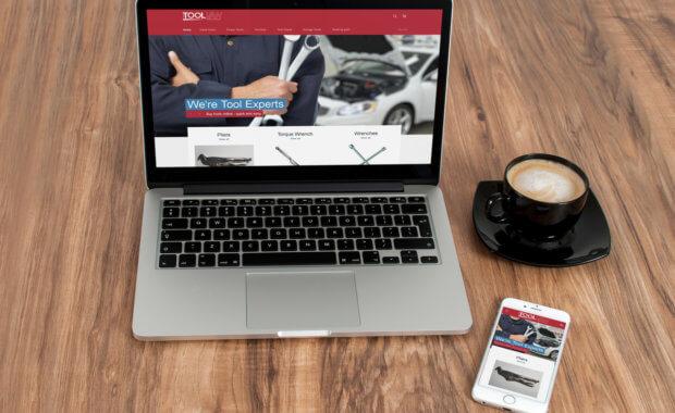 Web Design Glasgow Client Website - The Tool Van