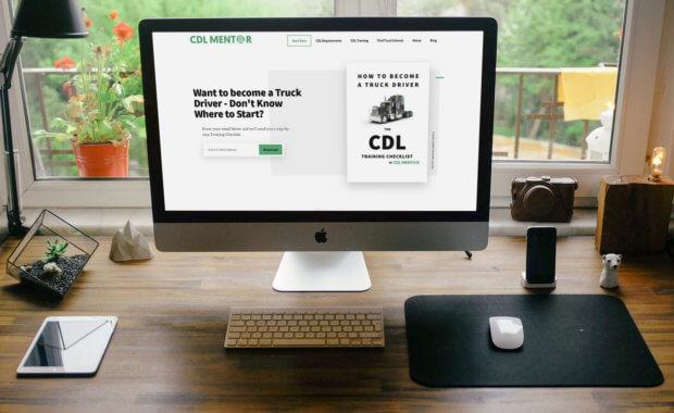 Web Design Greenock Client Website - CDL Mentor