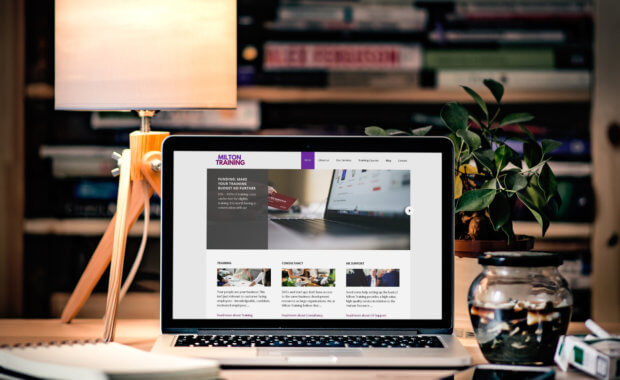 Web Design Greenock Client Website - Milton Training