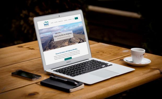 Web Design Stirling Website Client - Wrightway Hillwalking