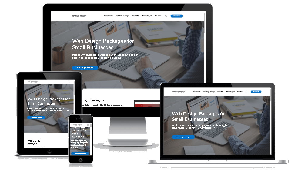 Web Design Packages Screenshots
