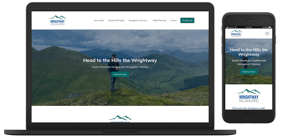 Wrightway Hillwalking Website