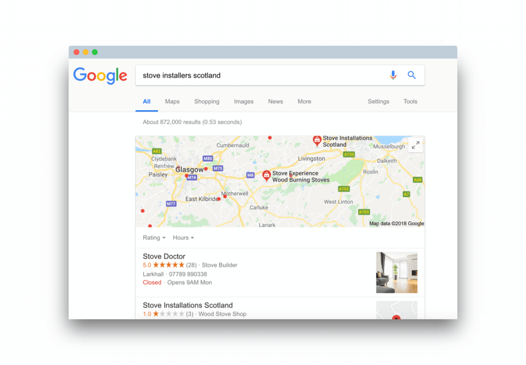 Local SEO Results Manco Media